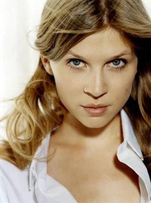 Clemence Poesy. Shes gorgeous, shes French, shes blonde . . .