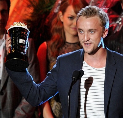 tom felton 2011 calendar. MTV Movie Awards: Tom Felton